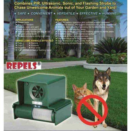 ls 987f repulsif ultrasonis anti hunde. Black Bedroom Furniture Sets. Home Design Ideas