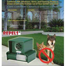 LS-987F Repulsif anti Chiens Ultrasonic