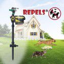 ScareCrow Automatic Water Sprinkler System Birds Repeller Water Spray Sensor Motion Battery