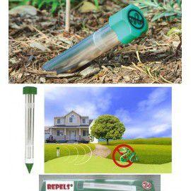 machina y producto repelente para serpientes LS-9107