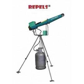 Canon à gaz électronique Bazooka avec trépied rotatif 360°